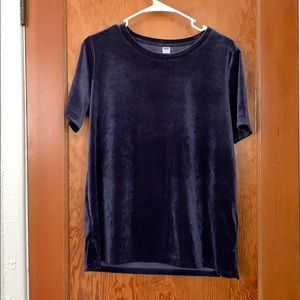 Small Old Navy Velvet Top